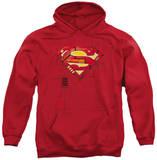 Hoodie: Superman - Super Mech Shield Pullover Hoodie