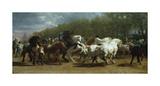 The Horse Fair Premium Giclee Print by Rosa Bonheur