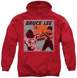 Hoodie: Bruce Lee - Comic Panel Pullover Hoodie