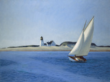The Long Leg, 1930 Plakater af Edward Hopper