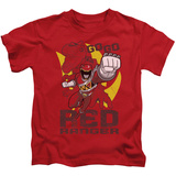 Juvenile: Power Rangers - Go Red T-shirts