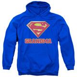 Hoodie: Superman - Super Grandma Pullover Hoodie