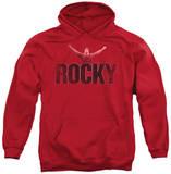 Hoodie: Rocky - Victory Distressed Pullover Hoodie