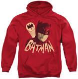 Hoodie: Batman Classic TV - Bat Signal Pullover Hoodie
