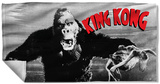 King Kong - Kong And Ann Beach Towel Beach Towel