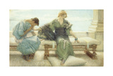 The Handmaiden Premium Giclee Print by Sir Lawrence Alma-Tadema