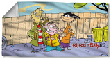 Ed Edd N' Eddy - Backyard Boys Beach Towel Beach Towel