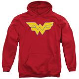 Hoodie: Justice League - Rough Wonder Pullover Hoodie