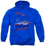 Hoodie: Back To The Future - Lightning Strikes Pullover Hoodie