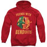 Hoodie: Gumby - Bendefits Pullover Hoodie