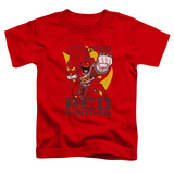 Toddler: Power Rangers - Go Red T-Shirt