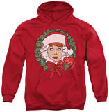 Hoodie: I Love Lucy - Wreath Pullover Hoodie