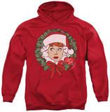 Hoodie: I Love Lucy - Wreath Pullover Hoodie
