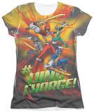 Juniors: Power Rangers - Hashtag T-shirts