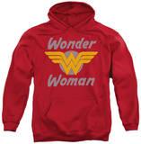 Hoodie: DC Comics - Wonder Wings Pullover Hoodie