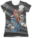 Juniors: Power Rangers - Let'S Bolt T-shirts