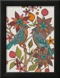 Lovebirds Print by Valentina Ramos