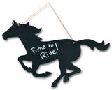 Horse Chalkboard Sign Wall Sign