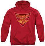 Hoodie: Batman - Red Tornado Shield Pullover Hoodie