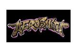 Aerosmith - Aerosmith Graffiti Banner Premium Giclee Print by  Epic Rights
