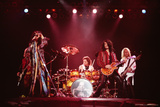 Aerosmith - Stage Night Lights 1990s Photo af Epic Rights