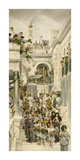 Spring Premium Giclee Print by Sir Lawrence Alma-Tadema