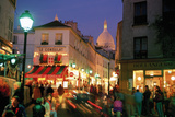 Montmartre Evening Giclee Print by Bob Krist