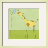 Stick-leg Giraffe II Prints by Erica J. Vess