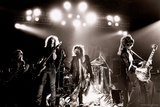 Aerosmith - Waterbury 1978 B&W Photo by  Epic Rights