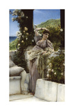 Thou Rose Of All Roses Premium Giclee Print by Sir Lawrence Alma-Tadema
