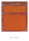 Orange, Red, Yellow, 1961 Prints by Mark Rothko