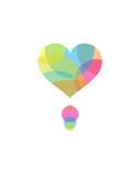 Colors of a Heart Art by Volkan Dalyan