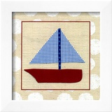 EJ's Sailboat Prints by Chariklia Zarris