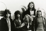 Aerosmith - Eurofest 1977 B&W Photo af Epic Rights