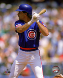 Rafael Palmeiro 1988 Action Photo
