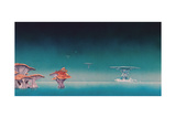 YES - YESsongs 1973 - Inner Sleeve 1 Giclee-tryk i høj kvalitet af Epic Rights