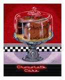 Chocolate Cake Prints by Sheri Warren