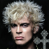 Billy Idol - Greatest Hits Inner Sleeve 2001 Photo by  Epic Rights