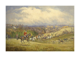 North Cotswold From Springhill Premium Giclee Print by John King