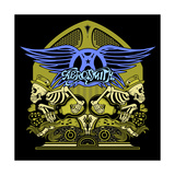 Aerosmith - Skeletal Rock Poster von  Epic Rights