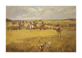 The Quorn - Gartree Hill Premium Giclee Print by John King