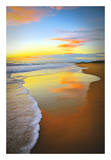 Beach Sunrise Posters by Tracie Louise