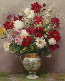 Dahlias Dans Un Pot Empire Giclee Print by Marcel Dyf