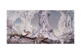 YES - Relayer 1974 - Inner Sleeve 3 Poster by  Epic Rights