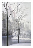 Central Park Print by Diane Romanello