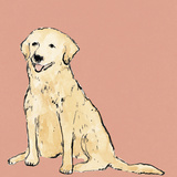 Boho Dogs IV Giclee Print by Clare Ormerod