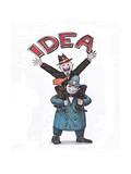 Happy Idea Prints by  tannene