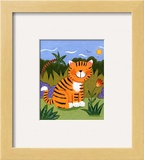 Baby Tiger Poster by Sophie Harding