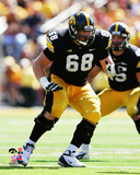 Brandon Scherff University of Iowa Hawkeyes 2012 Action Photo