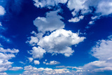 Blue Sky and Clouds Photographic Print by  mmphoto